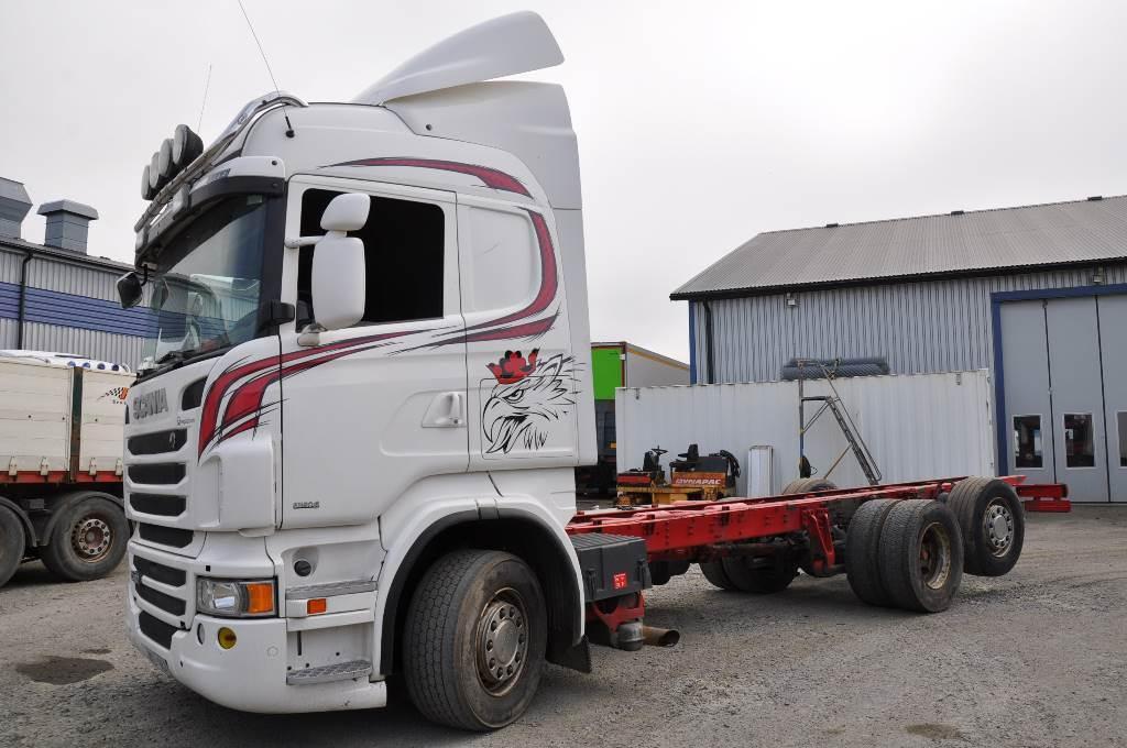 Scania R480 EURO6 6X2, Chassier, Transportfordon