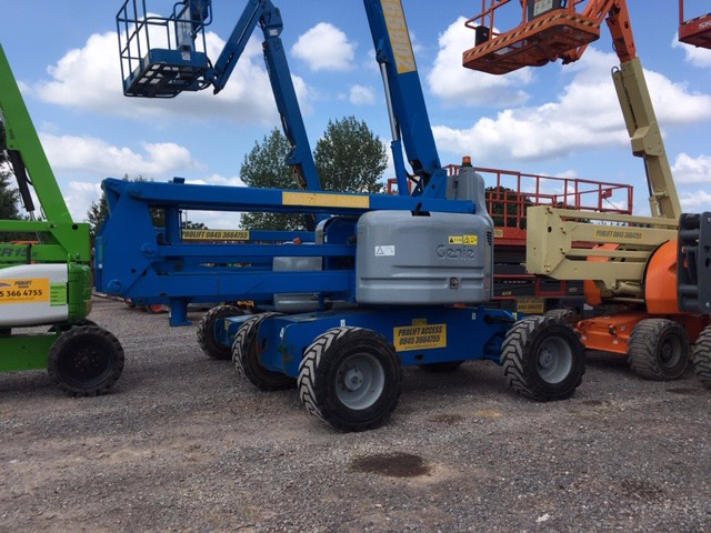 Genie Z 60/34 RT, Articulated boom lifts, Construction