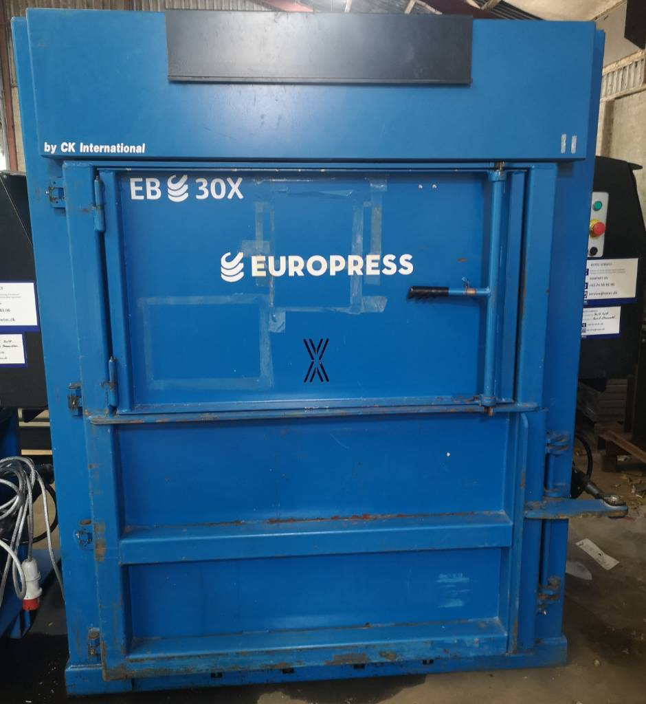 Europress EB30X, Industrial balers, Construction