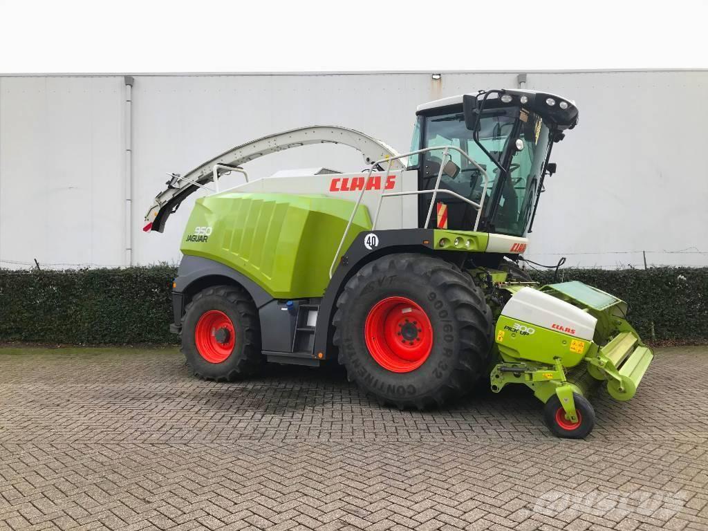 CLAAS JAGUAR 950, Forage harvesters, Agriculture