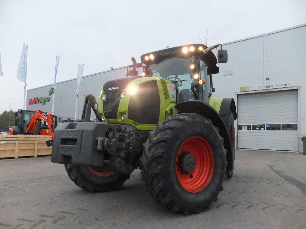 CLAAS Axion 830 CIS, Traktorit, Maatalouskoneet