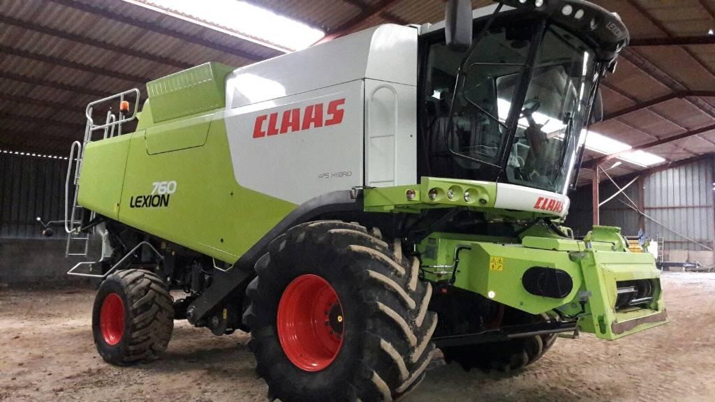 CLAAS Lexion 760, Machine à la récolte, Agricole