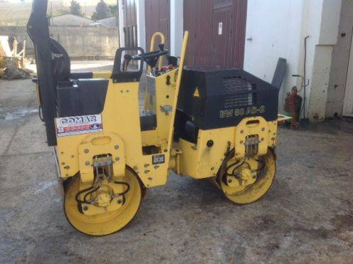 Bomag BW 80 AD-2, Twin drum rollers, Construction Equipment