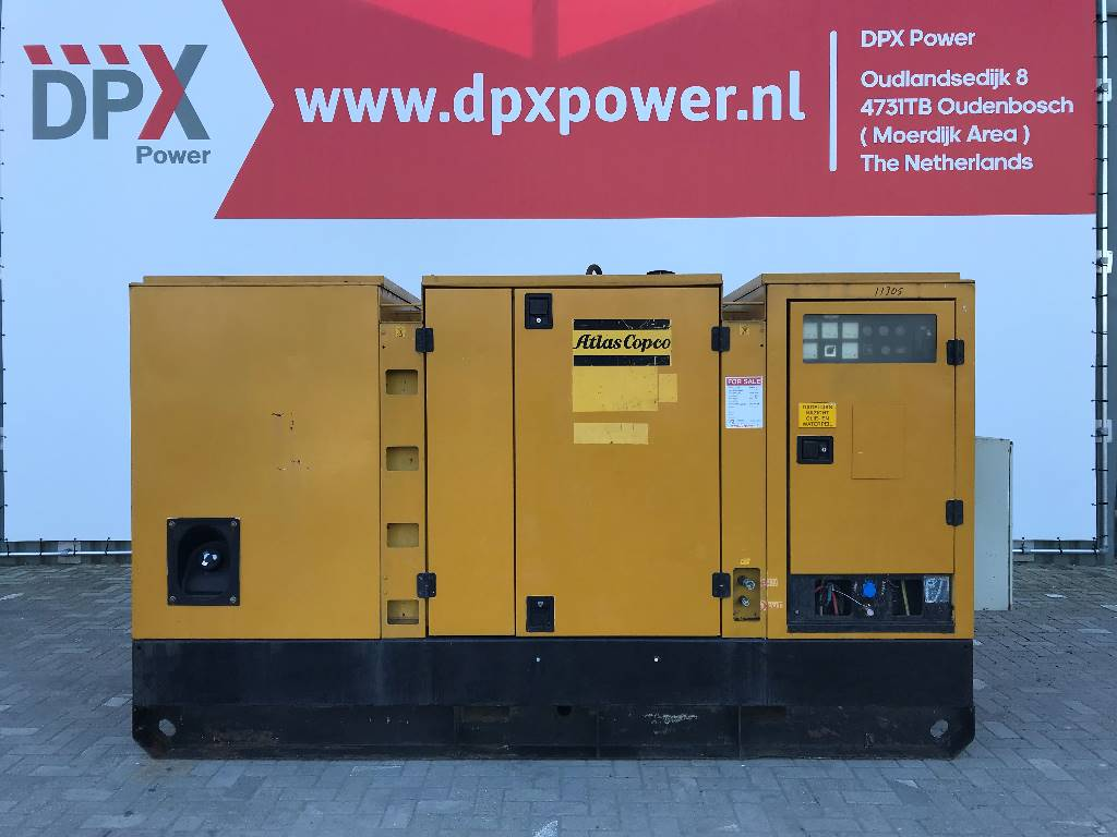 Atlas Copco QAS228 - 228 kVA Generator - DPX-11305، مولدات ديزل، معدات البناء