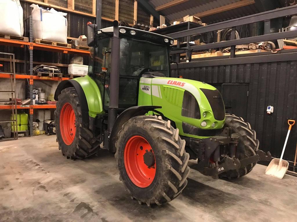CLAAS Arion 620 C, Traktori, Lauksaimniecība