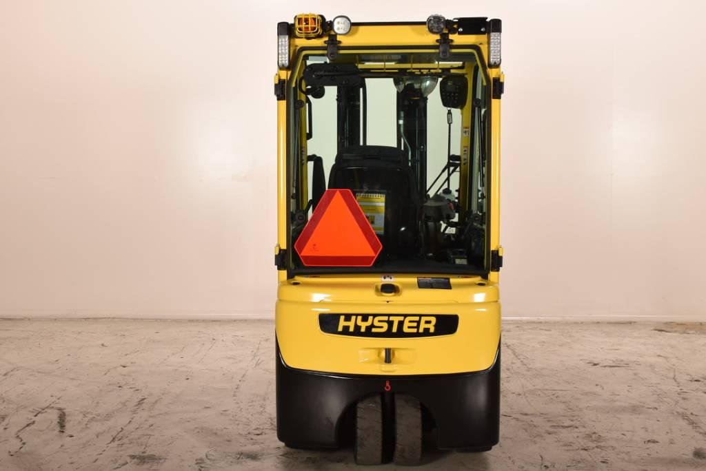 Hyster J2.0XNT, Elektrische heftrucks, Laden en lossen