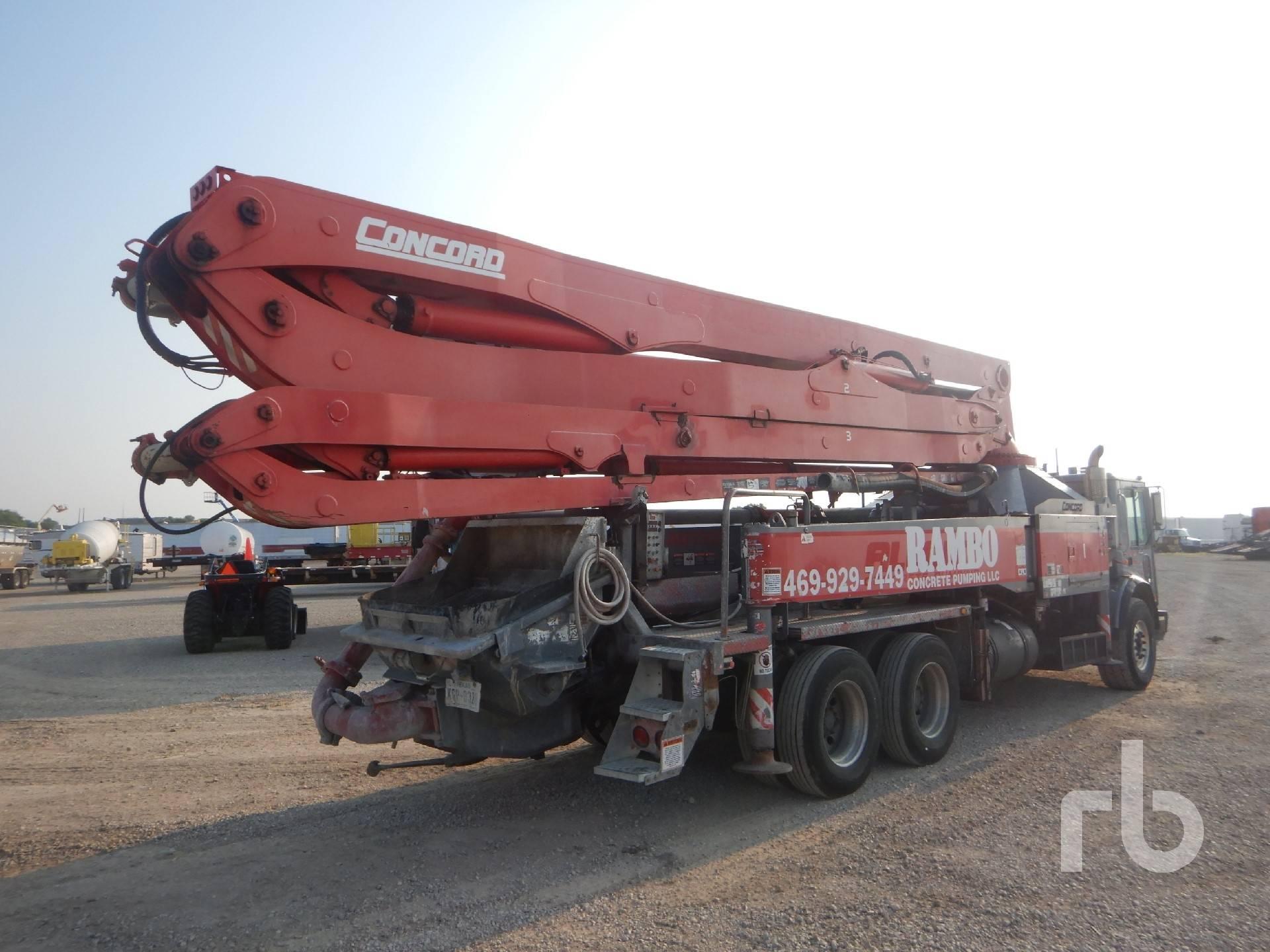 Concord 38M, Boom Pumps, Construction Equipment