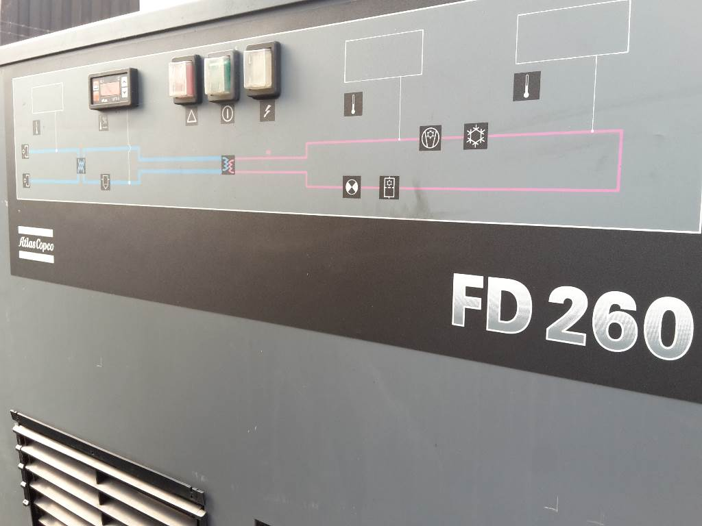 Atlas Copco FD 260A - Direct available, Compressed air dryers, Industrial