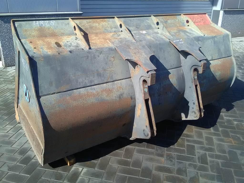 Ahlmann AZ 210E - 2,65 mtr - Bucket/Schaufel/Dichte bak