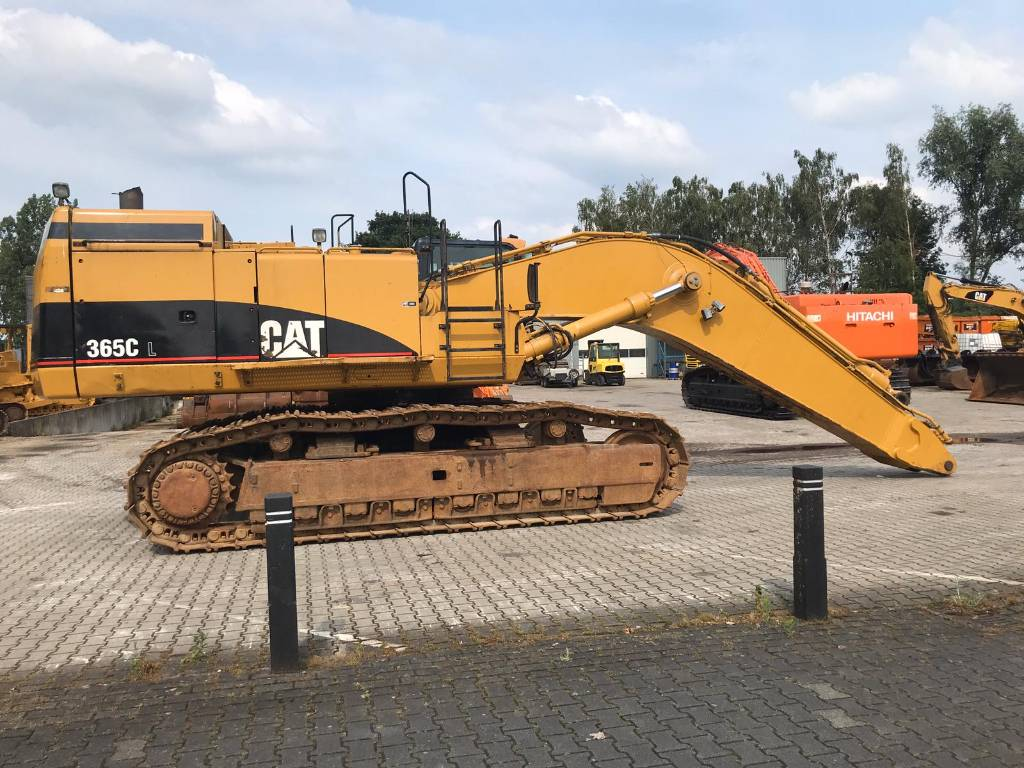 Caterpillar 365 C L, Crawler Excavators, Construction Equipment