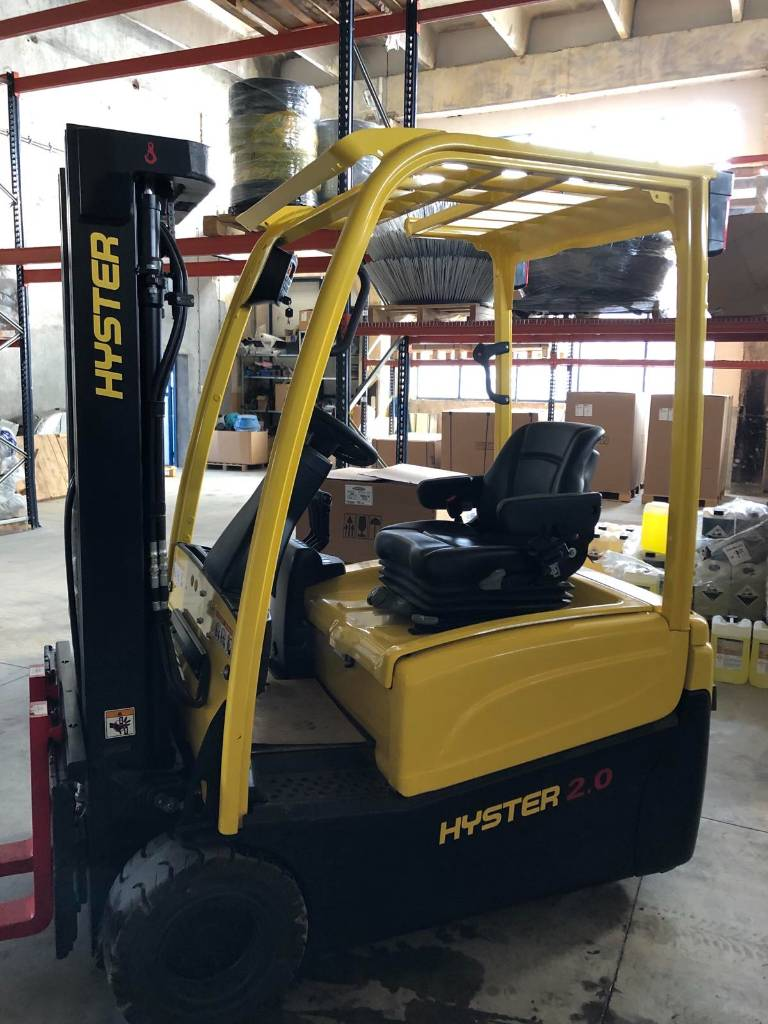 Hyster J 2.00 XNT, Electric counterbalance Forklifts, Material Handling