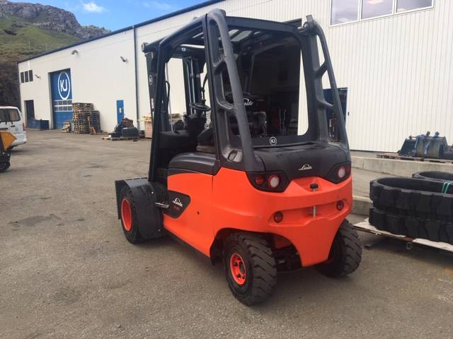 Linde E40  Model 388, Electric forklift trucks, Material Handling