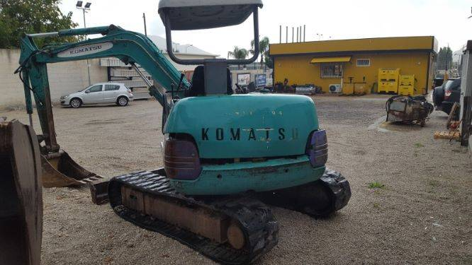 Komatsu PC40-77, Mini excavators, Construction Equipment