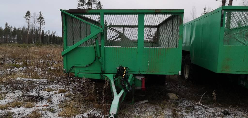JAK 40, Kippiperävaunut, Maatalous