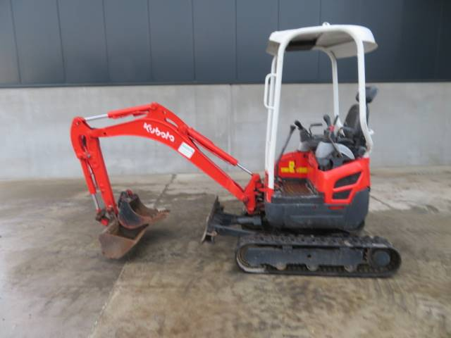 Kubota U 17-3 A, Mini excavators < 7t (Mini diggers), Construction
