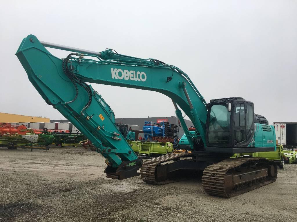 Kobelco SK300LC-10, Crawler excavators, Construction