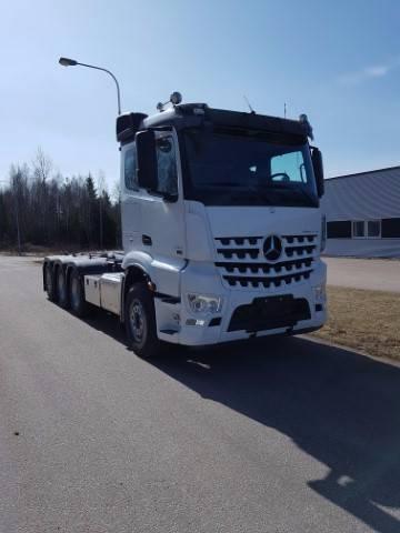 Mercedes-Benz Arocs 3253, Lastväxlare/Krokbilar, Transportfordon