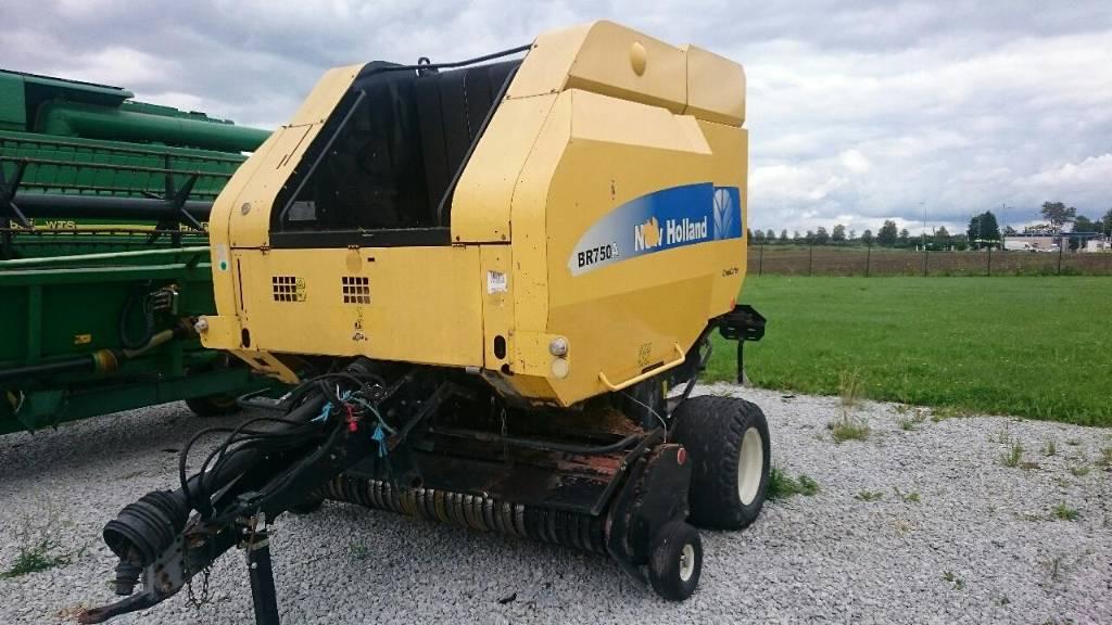 New Holland BR750A, Ruloonpressid, Põllumajandus
