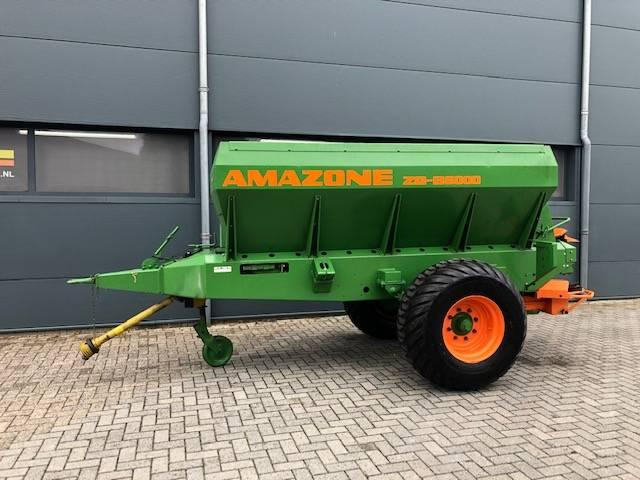 Amazone ZGB 6000, Kunstmestverspreider, Landbouw