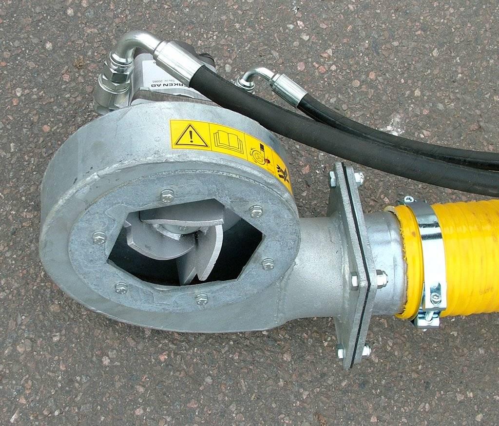 Hill HP300 gjødselpumpe, Pumper og røreverk, Landbruk