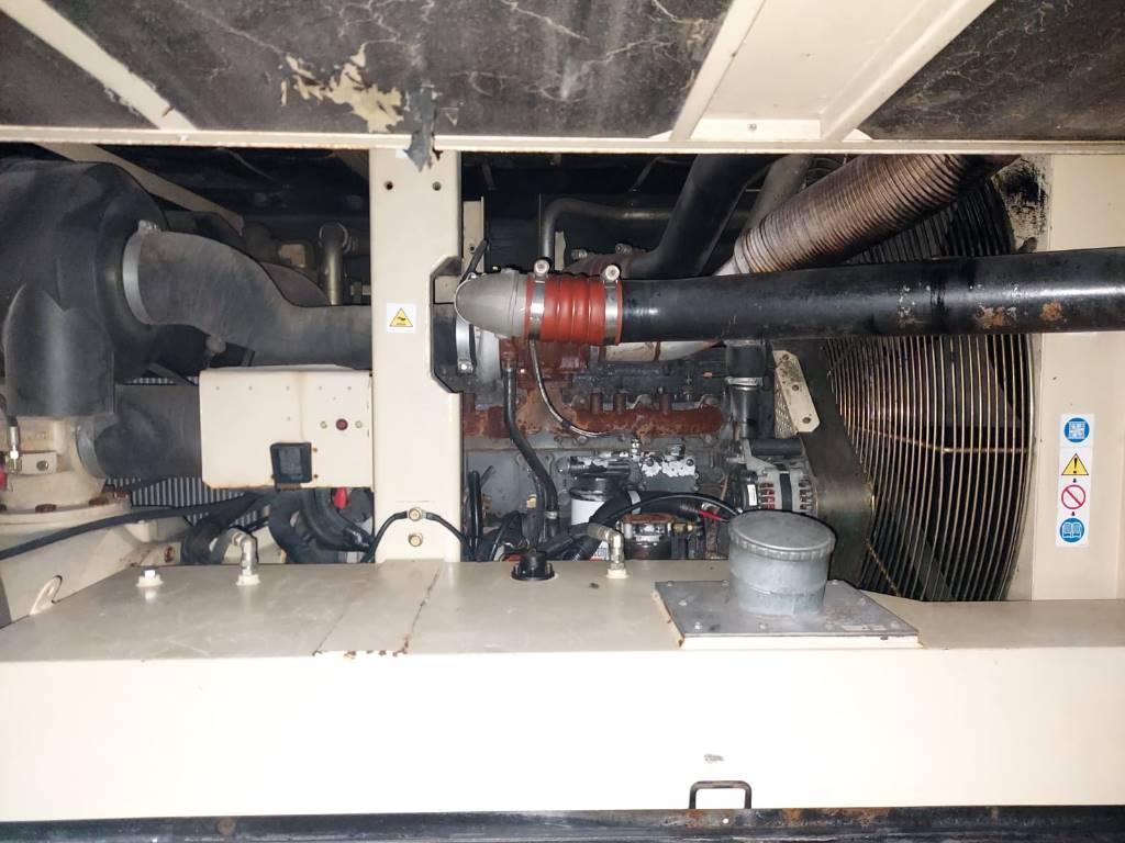 Ingersoll Rand 12/235, Compresores, Construcción