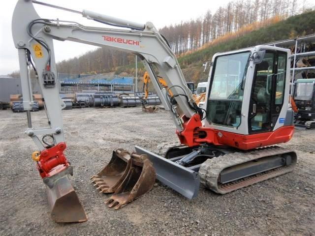 Takeuchi TB250 mit Powertilt, Mini Excavators <7t (Mini Diggers), Construction Equipment