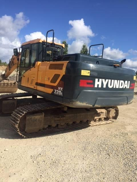 Hyundai HX 220 L, Crawler excavators, Construction