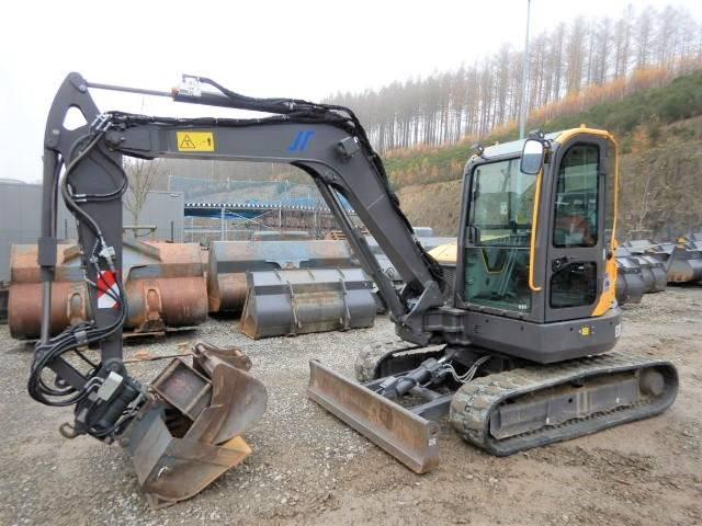 Volvo ECR 58 D mit Tilt und OQ40, Mini Excavators <7t (Mini Diggers), Construction Equipment