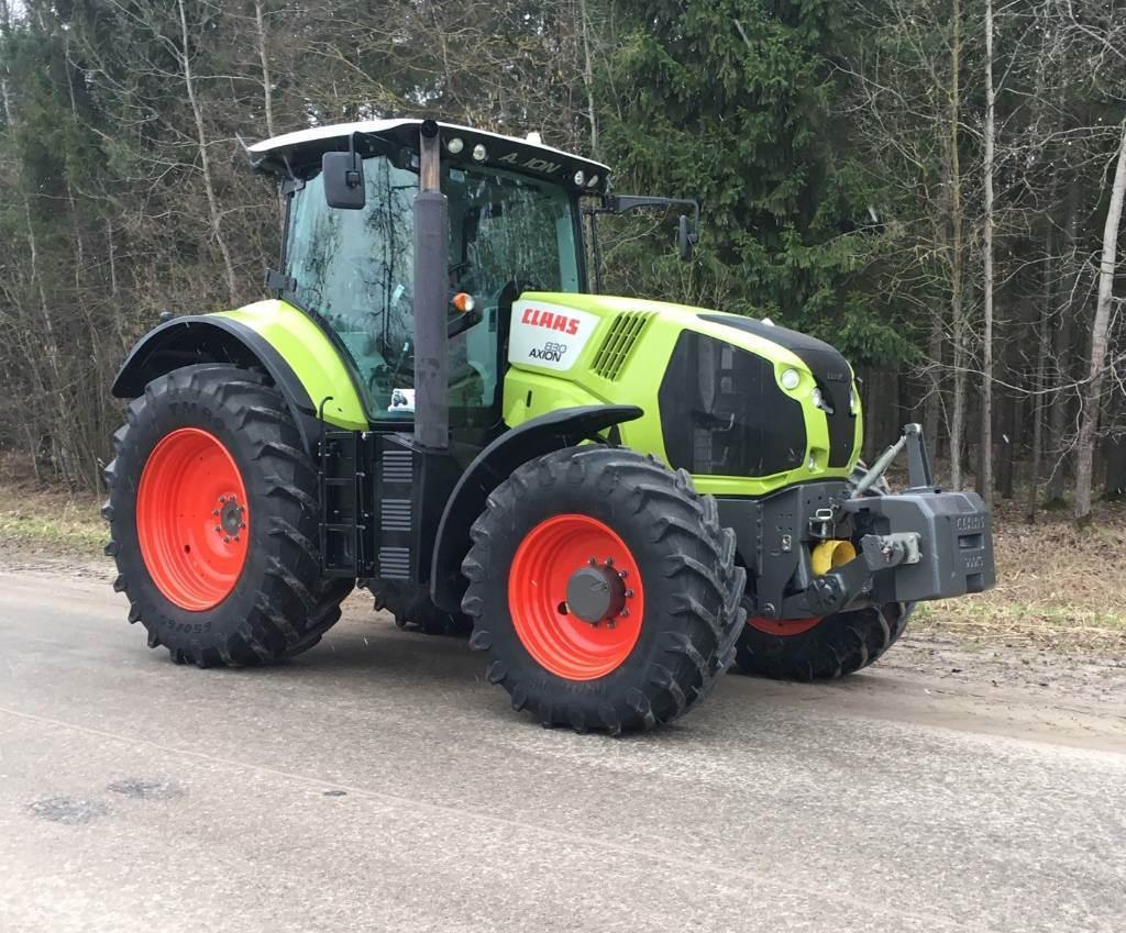 CLAAS Axion 830 CIS, Traktorid, Põllumajandus