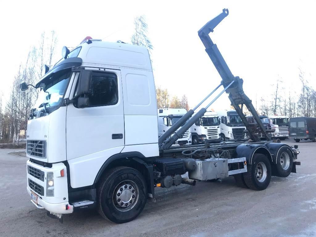 Volvo FH 12 6X2 VDL koukkulaite, Koukkulava kuorma-autot, Kuljetuskalusto