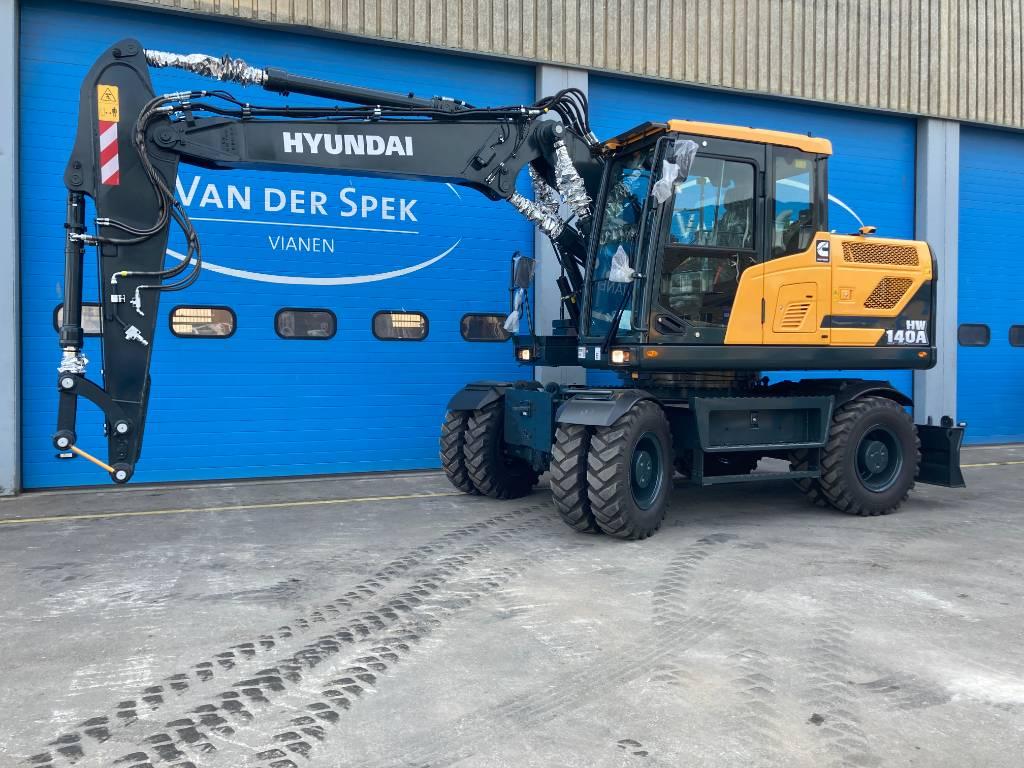 Hyundai HW140A, Wielgraafmachines, Bouw