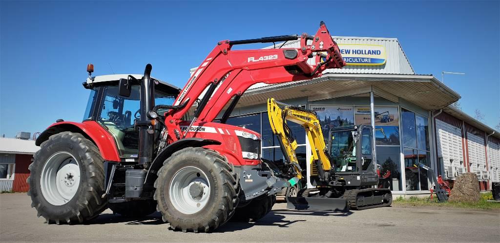 Massey Ferguson 7714 Dyna-4 -POISTOMYYNTI!, Traktorit, Maatalous