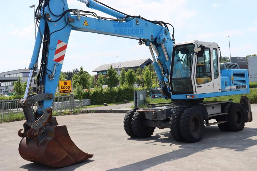 Liebherr A924B, Wheeled Excavators, Construction Equipment