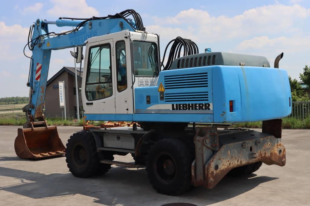 Liebherr A924B Litronic, Wheeled Excavators, Construction Equipment