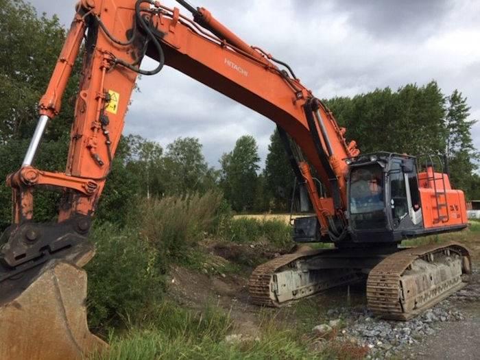 Hitachi ZX 470 LC H, Crawler Excavators, Construction Equipment