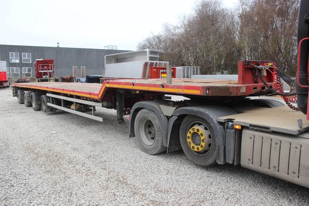 Faymonville SPZ-4AAAX   2 stk., Semi-trailer blokvogn, Transport