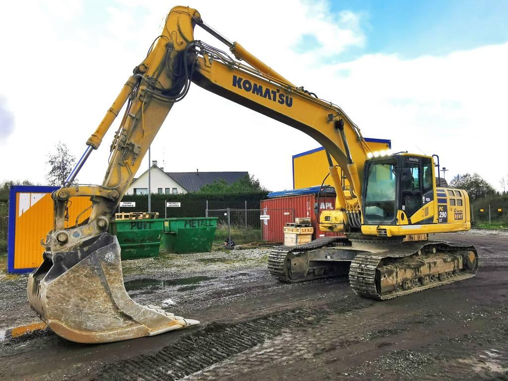 Komatsu PC290LC-10, Crawler excavators, Construction