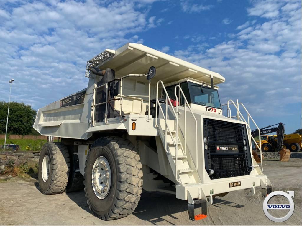 Terex TR 70, Rigid dump trucks, Construction Equipment