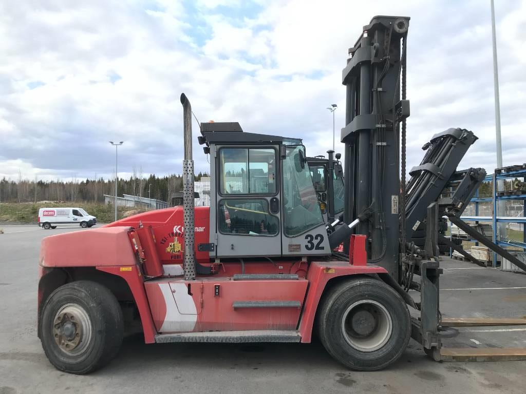 Kalmar DCE 120-12, Dieseltrukit, Materiaalinkäsittely