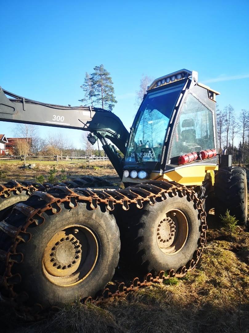 Eco Log 590D, Skördare, Skogsmaskiner