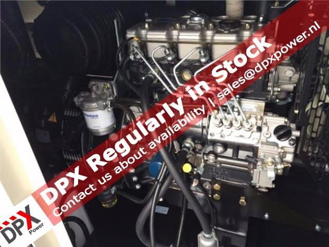 Perkins 404A Generatorset, Diesel generatoren, Bouw