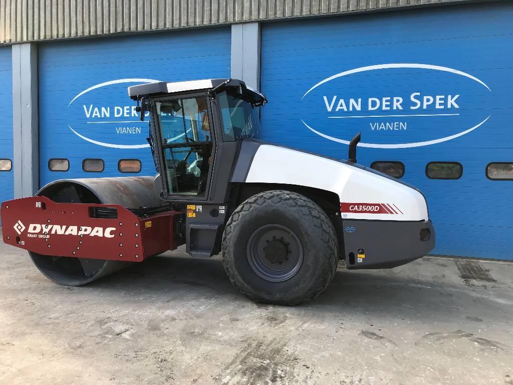 Dynapac CA3500D, Trilrolwalsen, Bouw
