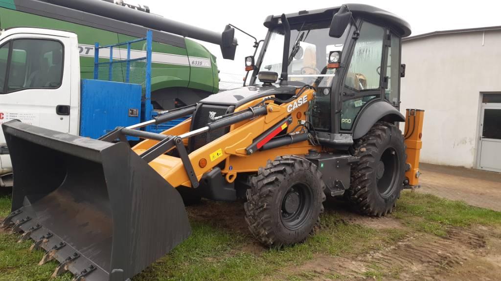 CASE 770 EX, Koparko ładowarki, Maszyny budowlane