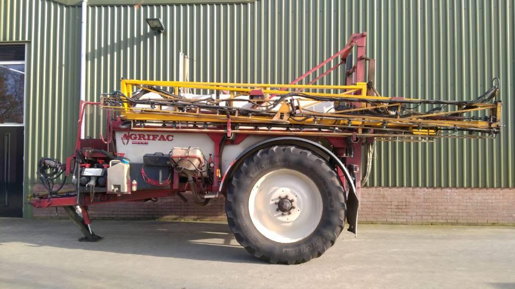 Agrifac GS 5833, Getrokken spuitmachines, Landbouw