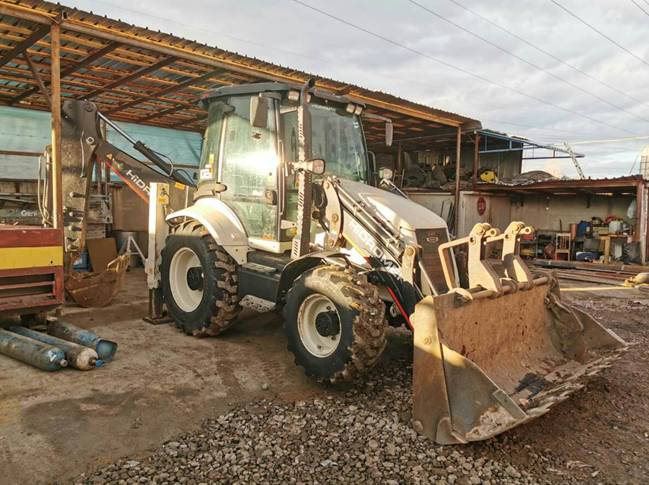 Hidromek 102 B (A5) Alpha, Backhoe Loaders, Construction Equipment