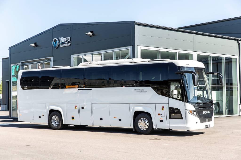 Scania Touring (HD), Turistbussar, Transportfordon