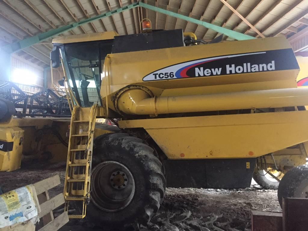 New Holland TC 56, Leikkuupuimurit, Maatalous