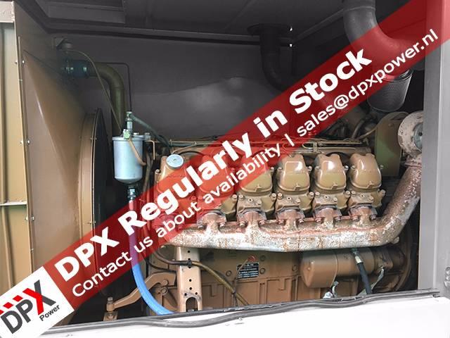 MAN D2542 Generatorset, Diesel generatoren, Bouw
