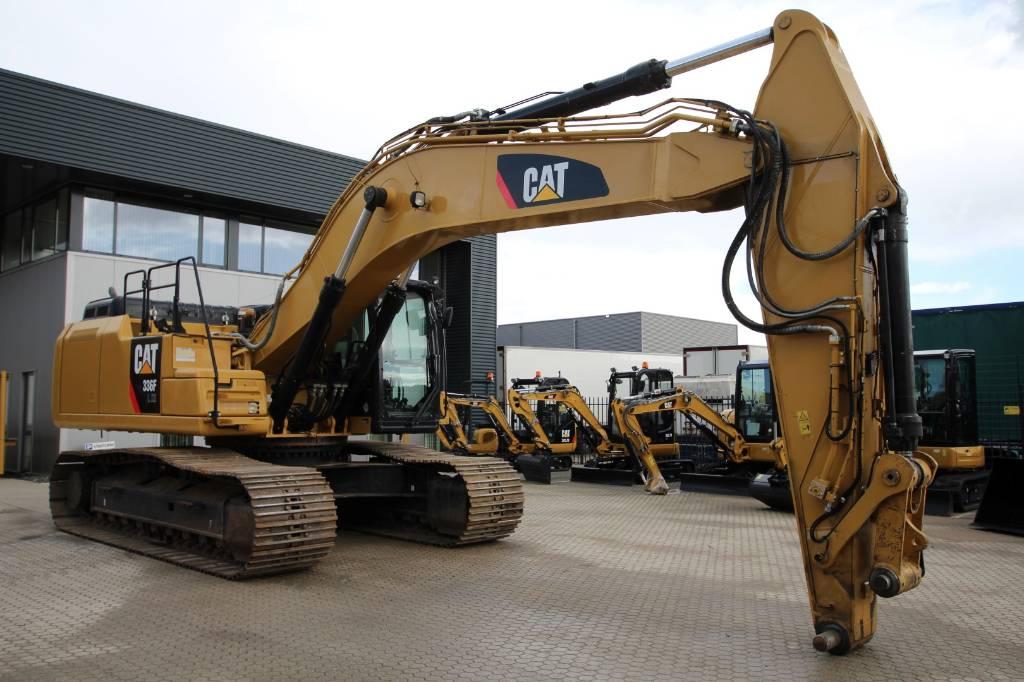 Caterpillar 336F XE, Rupsgraafmachines, Bouw