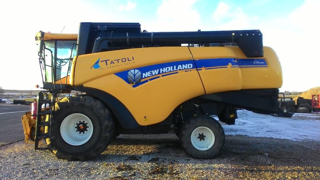 New Holland CX 6080, Kombainid, Põllumajandus
